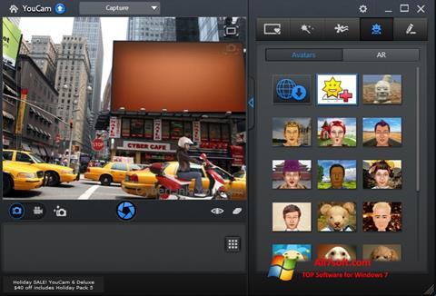 Ekran görüntüsü CyberLink YouCam Windows 7